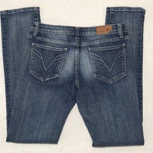 Vigoss Jeans - VIGOSS STRAIGHT LEG DISTRESSED JEAN, Sz 7 (29)